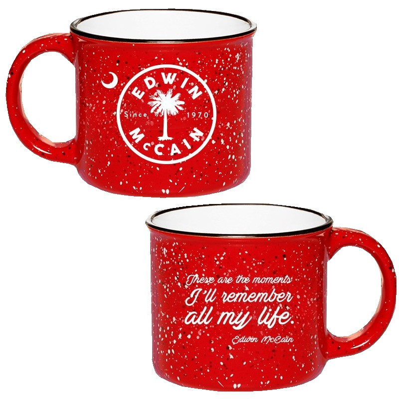 Edwin McCain Red I Could Not AskFor More Campfire Mug