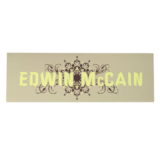 Edwin McCain Bumper Sticker