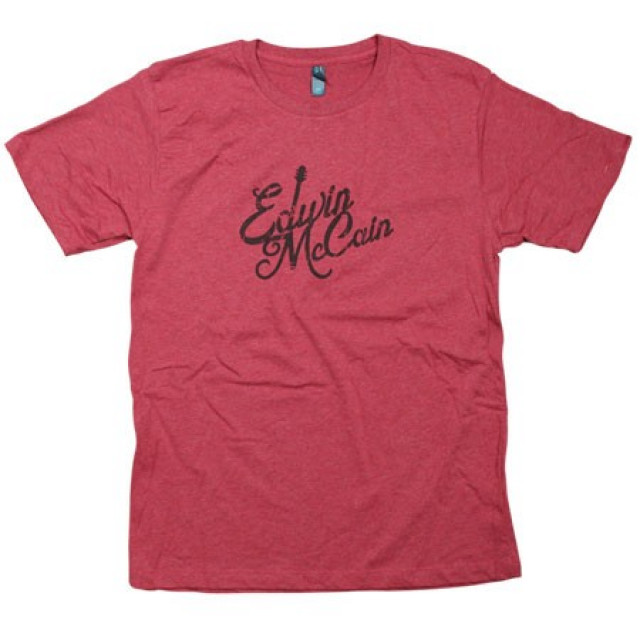 Edwin McCain Heather Red Tee