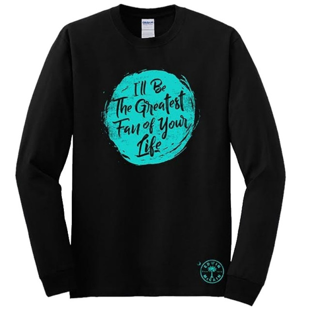 Edwin McCain Long Sleeve Black Tee