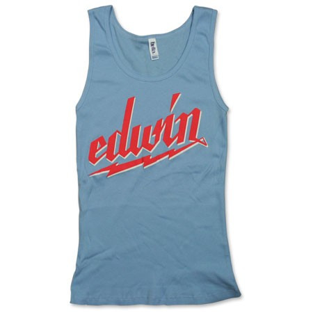 Edwin McCain Light Blue Tank Top
