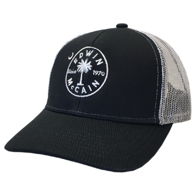 Edwin McCain Navy and White Ballcap